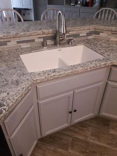 Farmhouse Apron Front Sink Featuring A Drawer Disguised As Doors Below.    Kitchens Are Made For Cooking   Pinterest   Apron Front Sink, Farmhouse  Aprons And ...