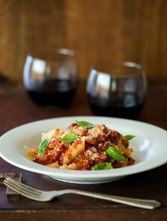 easy and delicious PAPPARDELLE WITH BOLOGNESE SAUCE #pasta #italian #deliciousdinner