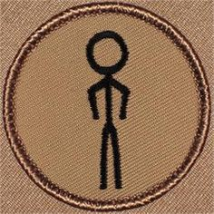 Stickman Patrol Patch (#161)