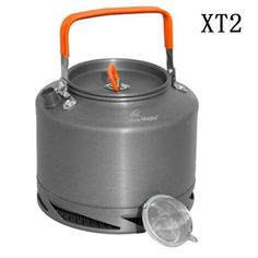 Campcookingsupplies Shop For Cheap 1.1l Camping Outdoor Water Kettle Pot Teapot Picnic Cookware Coffee Ultra-light Hiking Survival Aluminum Portable Compact Sports & Entertainment