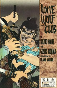 Lone Wolf And Cub #11, March 1988, cover by Frank Miller