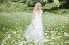 Pretty tulle wedding dress from Wild Rose By & For Love