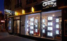 Real Estate Window Displays, Listing Displays, Illuminated Real Estate Displays
