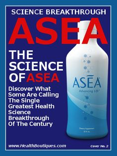 ASEA Science Breakthrough - Health Boutiques Discover what some are calling the single greatest health Science breakthrough of The Century. http://on.fb.me/1a2LDOz