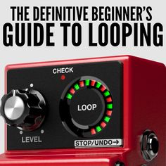 Have you been interested in looping but never taken the plunge? Here are three easy steps to help get you started on your looping journey!