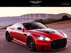 Visit The MACHINE Shop Café... ❤ The Best of Aston Martin... ❤ (Aston Martin before Photoshop)