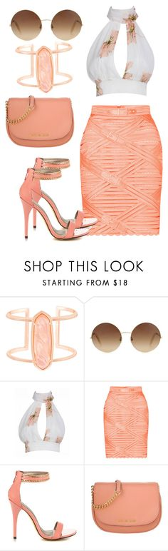 """End of Summer"" by kimchi28 ❤ liked on Polyvore featuring Kendra Scott, Victoria Beckham, Marina Hoermanseder, Michael Antonio and Michael Kors"