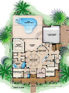 Florida Cracker House Plan ID: chp-39614 - COOLhouseplans.com