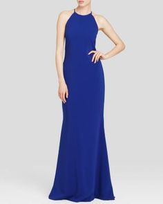 Badgley Mischka Gown - Sleeveless | Bloomingdale's