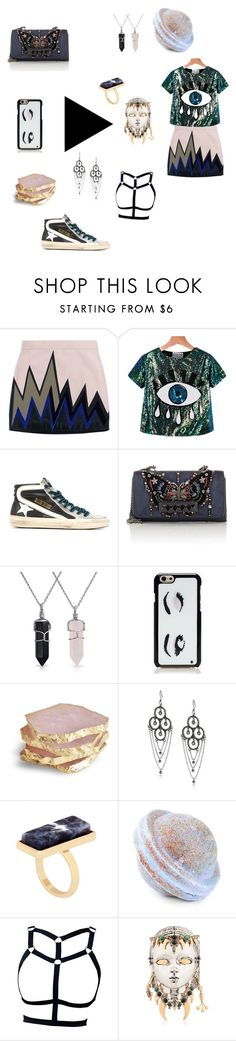 """""""violet"""" by versa-cheese ❤ liked on Polyvore featuring Emilio Pucci, Golden Goose, Valentino, Bling Jewelry, Kate Spade, Lucky Brand, OPTIONS and Schield Collection"""