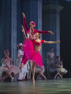 Nikolaj Hubbe's La Bayadere, Royal Danish Ballet, Photo: Costin Radu