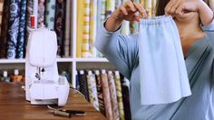 Learn how to sew an elastic waistband from Fabricworm.com founder Cynthia Mann in this Howcast video.