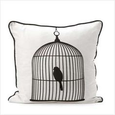 have this pillow in beige! ----Bird Cage pillow.