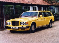 Bentley Val D'Isere Built by Jankel with 4x4 for Sultan of Brunei in Imperial Yellow