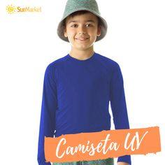 616bec201 Camiseta UV Pro Manga Longa Infantil com Proteção Solar UV! Conta com  tecnologia QUICKDRY