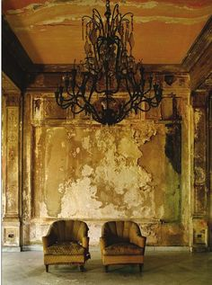 by  Havana's crumbling yet beautiful interiors photographed by Michael Eastman
