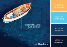 101 Color Combinations to Inspire Your Next Design – Mediterranean Color Palette