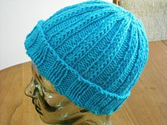 Ravelry: Cuffed Hat pattern by Cathy Hardy