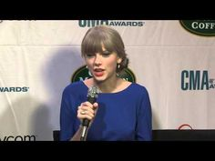 CMA Awards: Interview with Taylor Swift