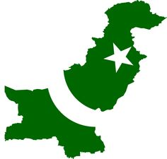Pakistan Flag Map - Mapsof.net