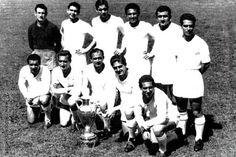 Equipos de fútbol: REAL MADRID Campeón de Europa 1955-56