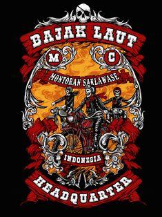 artwork for Bajak Laut Tshirt Montoran saklawase Vector Design, Graphic Design, Artwork Design, Creative Art, Digital Prints, Illustrator, Police, T Shirt, Sticker