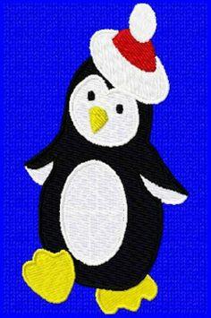 Christmas Penguin Design
