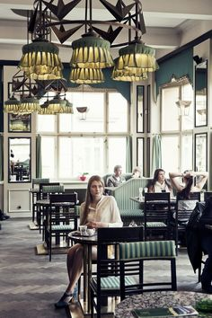 Grand Café Orient, Prague The most elegant cubist design cafe in the world.