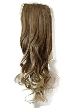 PRETTYSHOP Haarteil hairpiece Zopf Pferdeschwanz Haarverlängerung 55cm gewellt diverse Farben (dunkler blond mix Farbton 27T613) Unbekannt http://www.amazon.de/dp/B00CX41J8I/ref=cm_sw_r_pi_dp_0eBVwb09Y6Q9M