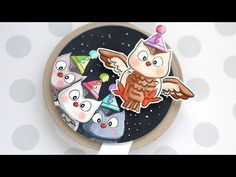 Interactive Flutters Owl Card - Art Impressions Week Day 1 - YouTube