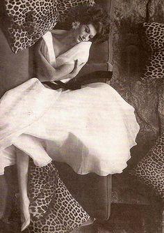 Simone, photo by Melvin Sokolsky for Harper's Bazaar, July 1960