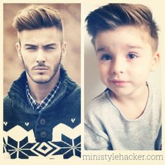 Kaiden's next cut? little boy stylish haircut - undercut