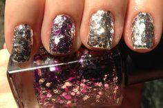 #nails #shinny #glitter