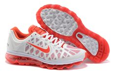 Womens Nike Air Max 2011 White Sneakers - Click Image to Close