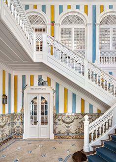 Keys Hotel, Portugal, Landmark Hotel, Hospitality Design, Moorish, Architect Design, Creative Home, Interiores Design, Stairs