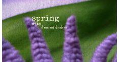 Buongiorno e buona settimana a tutti! Come vedete ho intitolato questa foto Spring con ...perchè ho una bella notizia da darvi e che anco...