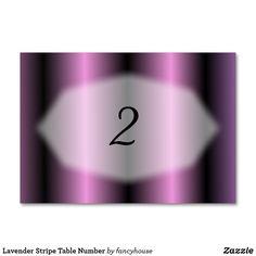 Lavender Stripe Tabl
