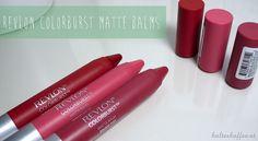 Feed the matte addiction: Revlon ColorBurst Matte Balms