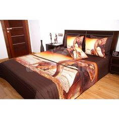 Prehoz na posteľ hnedej farby s motívom slonov Bed, Furniture, Home Decor, Decoration Home, Stream Bed, Room Decor, Home Furnishings, Beds, Home Interior Design