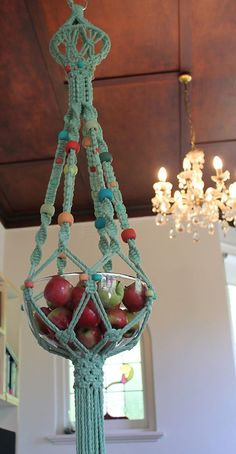 Limited edition macramé sculptures by Jessie Willow Tucker.