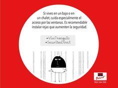 Consejos #SecuritasDirect para tu #Seguridad y #ViveTranquilo