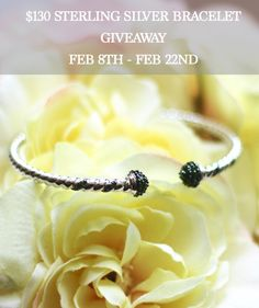 Enter for a chance to win a $130 Sterling Silver Bangle Bracelet. Giveaway dates are Feb 8-22. Open to U.S residents and U.S territories only. Must be 18 years or older to enter. #GalentinesDayWithJTV #spons