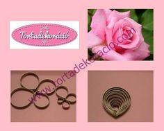 Rózsaszirom kiszúró 8 db-os
