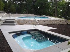 2013 Custom Pool & Spa - Quantus Pools quantuspools.com 847-907-4995