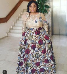 The complete collection of Exotic Ankara Gown Styles for beautiful ladies in Nigeria. These are the ideal ankara gowns African Maxi Dresses, Ankara Dress Styles, Trendy Ankara Styles, Latest African Fashion Dresses, African Inspired Fashion, African Dresses For Women, African Print Fashion, Africa Fashion, African Attire