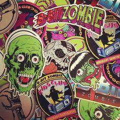Zombie Stickers.