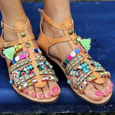 Sandals 'Saltwater' Give me all the fish you got