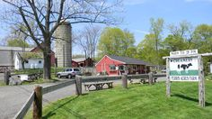 Ferris Acres Creamery. A beautiful back road country drive to this wonderful family farm. Eat fantastic ice cream while you watch the cows that provided it! A very special destination for any sunny afternoon.