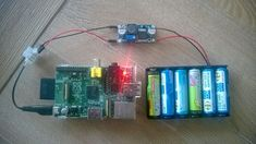 Raspberry Pi Home Server - Alimenter le Raspberry avec des piles