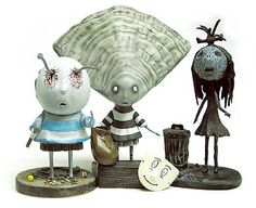 Tim Burton Tragic Toys Oyster Boy PVC Set - Dark Horse - Tim Burton - Action Figures at Entertainment Earth